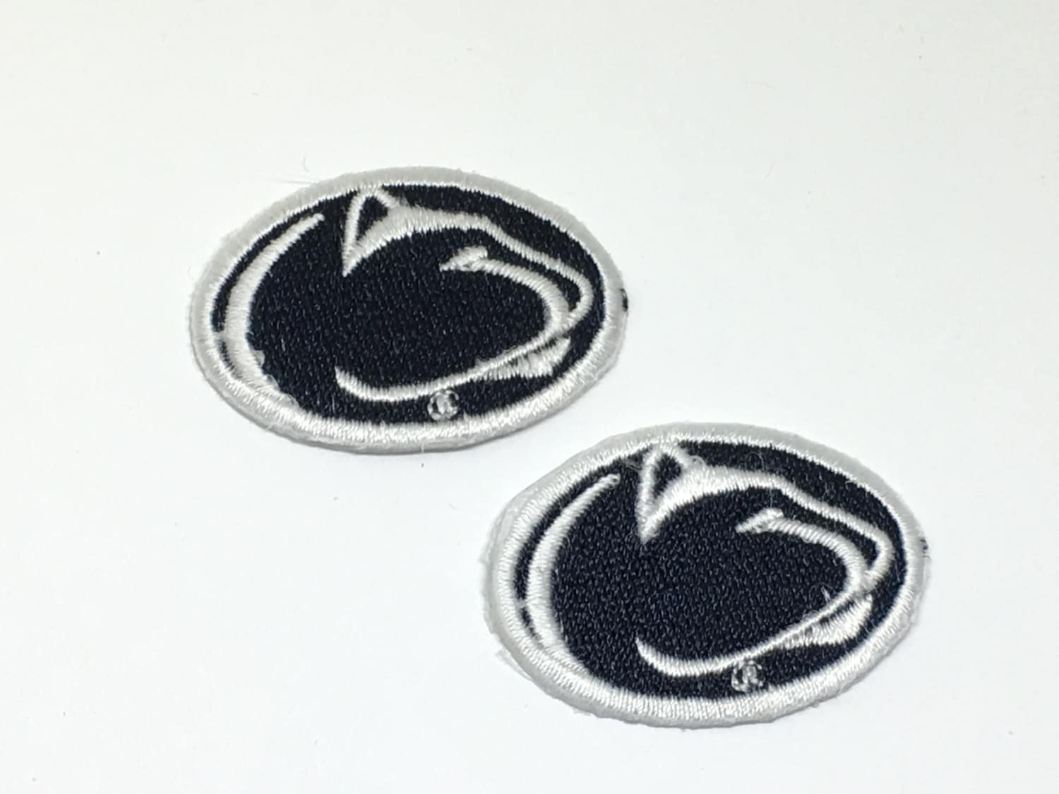 2 small penn state embroidered iron on patches nittney lions patches 300 shipping buycottarizona Gallery