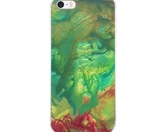 "Exclusive Original Designer iPhone Case by Aditi-Kali-""fearie Green"""