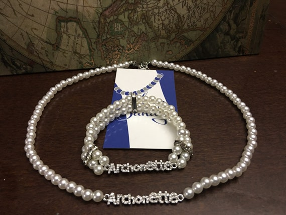 ZYA Archonette Necklace and Bracelet Set
