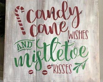 Candy Canes & Mistletoe