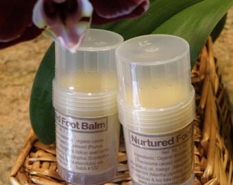 Herbal Foot Balm - Organic Ingredients - Natural Ingredients for The Nurtured Foot