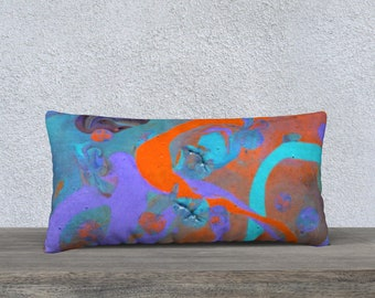 Abstract Swirl Pillowcover
