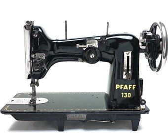 High Performance PFAFF 130 Vintage Zig Zag Sewing Machine Serviced & Restored by 3FTERS