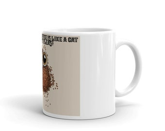 A day without coffee is like a cat without fleas Mug