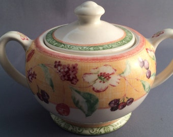 Queens Covent Garden Lidded Sugar Bowl For Tea