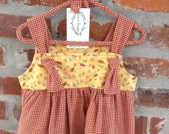 Knot tied jumper or dress