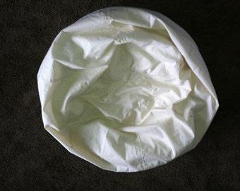 muslin kid sized bean bag chair liner