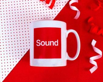 Scouser Sound Mug - Red Liverpool Mug - Funny Phrase Mug - Joke Mug