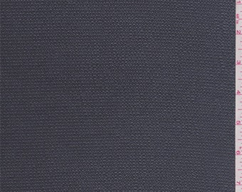 Deep Grey Pearl Hammered Satin Charmeuse, Fabric By The Yard