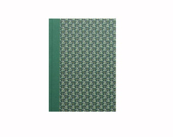 Large Address Book emerald green, A5 Telephone Book, Wedding Address Book, Gift for couples,