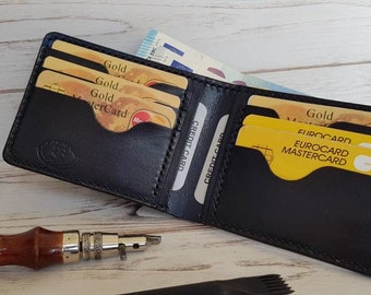 Men's leather wallet\leather wallet\portafoglio in cuoio\кожанный кошелек\кожанный бумажник\personalized wallet