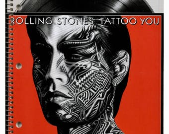 The Rolling Stones ~Tattoo You~ Notebook 1981