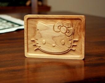 """Hardwood Hello Kitty (6"""")"""