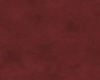 Solid Fabric, Blender Fabric - Shadow Play by Maywood Studios MAS513 R22 Burgundy - Priced by the 1/2 yard