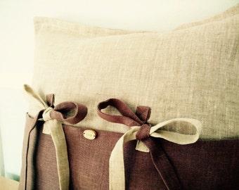 Linen Pillow cover/ cushion cover/ Linen decorative pillow