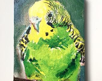 Custom mini canvas painting