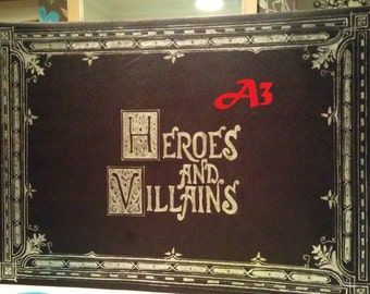 Heroes and Villains book (OUAT)