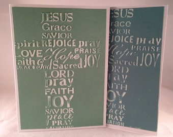 Set of 5 Cross CLASSIC Sympathy Cards