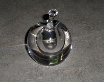 Kosta Boda Sweden Lindstrand APPLE perfume scent BOTTLE
