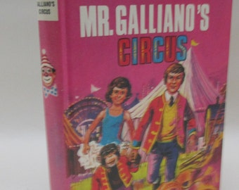 Vintage 1970s Children's Book - Mr Galliano's Circus by Enid Blyton