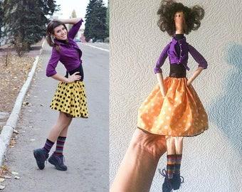 Handmade Doll by Photo Tilda Personolized Doll