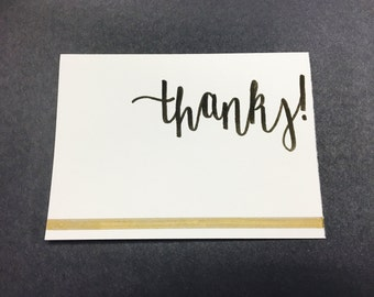 "Greeting Card: ""Thanks!"""