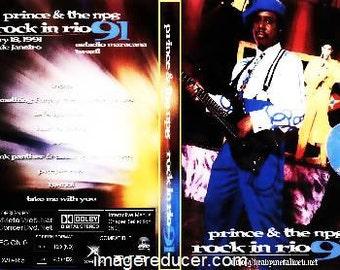 Prince Live Rock In Rio 1991 Dvd Rare Complete