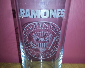 Ramones Pint Glass
