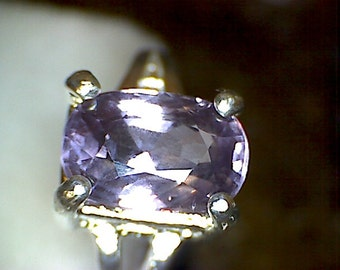 Stunning Purple Spinel Ring