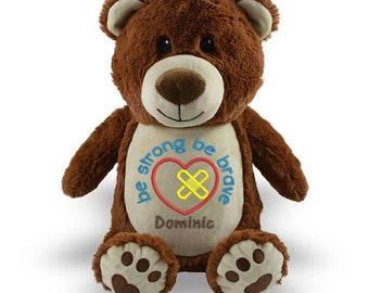 Chd Heart Bear, Warrior Heart Bear
