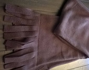 Fleece Scarf Chocolate Brown