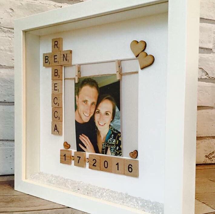 Engagement Frame Wedding Photo Frame Personalised Engagement