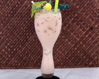 Vintage Imperial Glass Kahiki Original Tiki Ten Pin Bahia Drink Vessel Columbus, Ohio 1960s