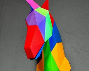 Papercraft Unicorn