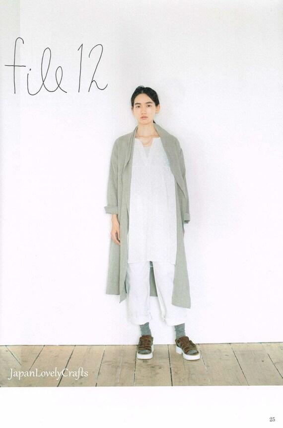 Einfache & lässige Kleidung japanische Nähen Muster-Buch für