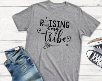 Raising My Tribe w/Arrow~Graphic Tshirt~Free Shipping!