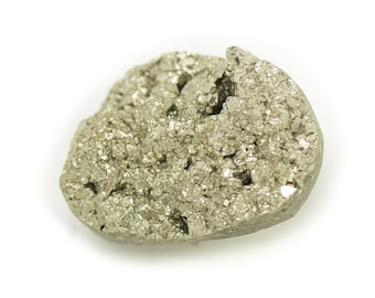 N8 - Cabochon stone - Pyrite raw 25x18mm - 8741140018389