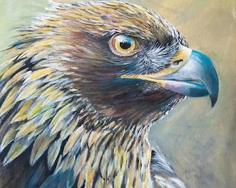 golden eagle original art work