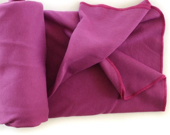 Swaddle Sale! Organic Cotton Swaddle Blanket for Baby - Purple