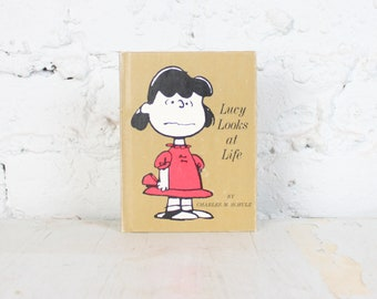 Lucy Looks at Life by Charles Schultz a Mini Hardcover Book from 1967