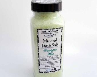 Eucalyptus Mint Mineral Bath Salts