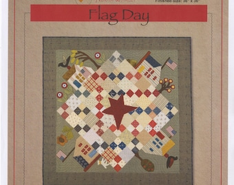 Flag Day Quilt Pattern by Timeless Traditions