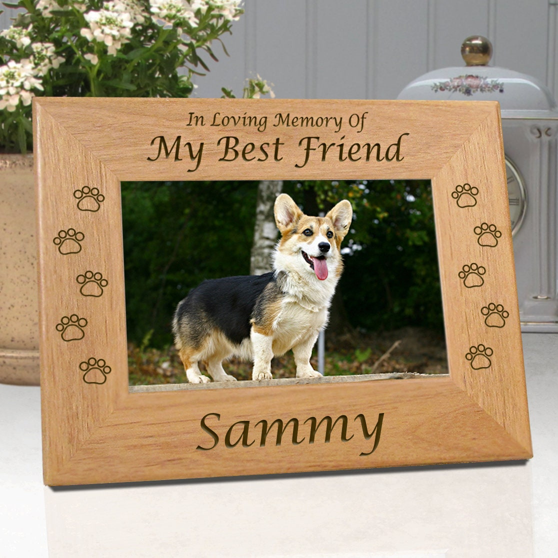 FREE SHIPPING Personalized Dog Memorial Frames My Best