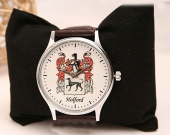 Coat of arms watch