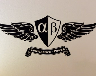 Vinyl Wall Decal - Statistical Confidence and Power
