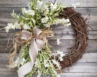 Front Door Wreaths, Summer Wreaths, Home Decor Wreaths, Wreath Great For  All Year