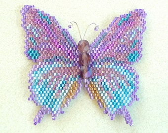 Amethyst Hairstreak Butterfly Pattern and Tutorial