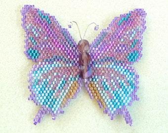 Amethyst Hairstreak Butterfly Pattern and Tutorial