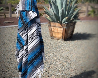 Mexican Falsa blanket, mexican blanket, falsa, hand woven blanket, woven mexican blanket