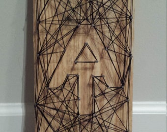 Appalachian Trail String Art